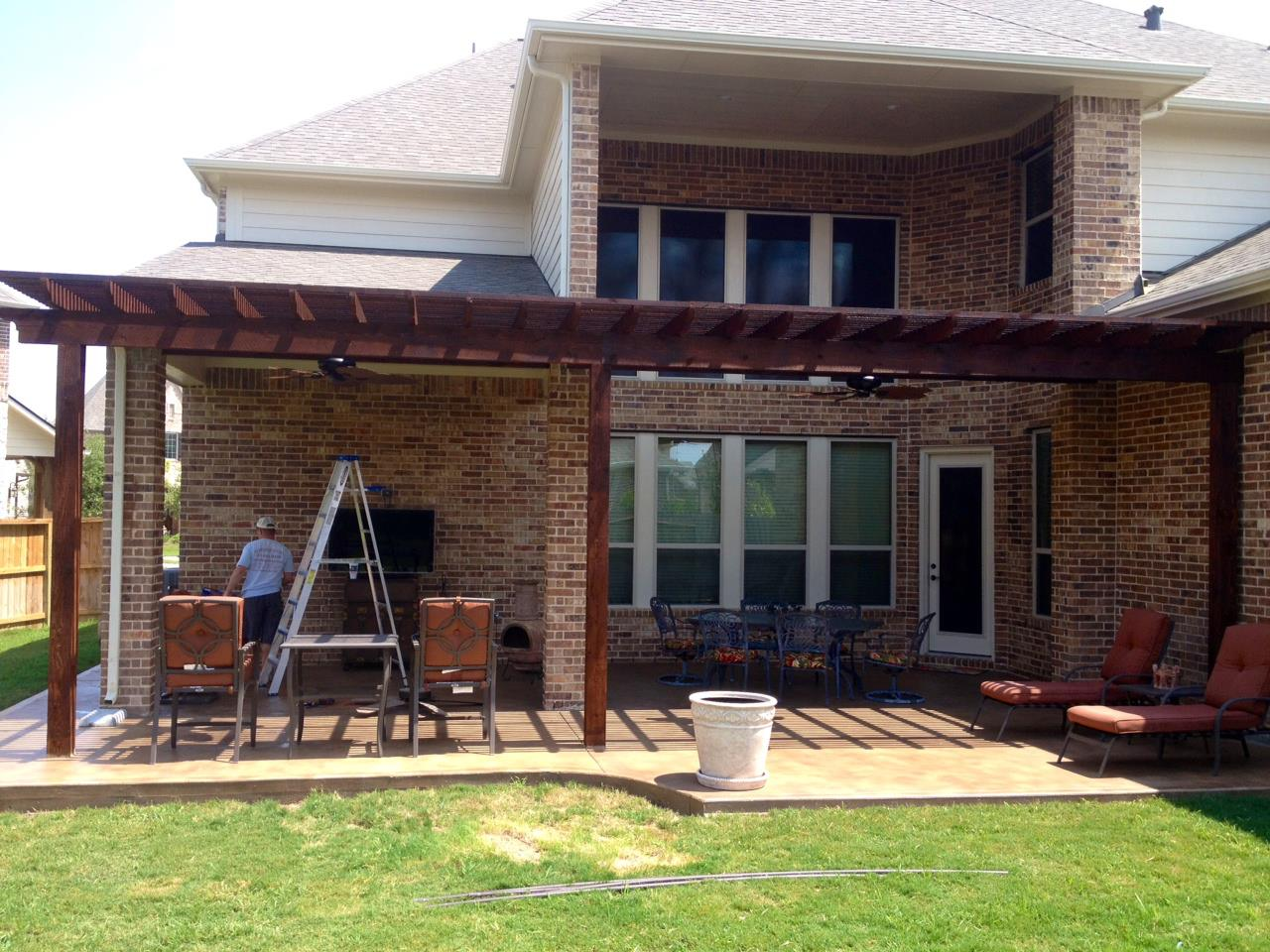 patio covers katy tx patio cover in katy tx hhi. Black Bedroom Furniture Sets. Home Design Ideas