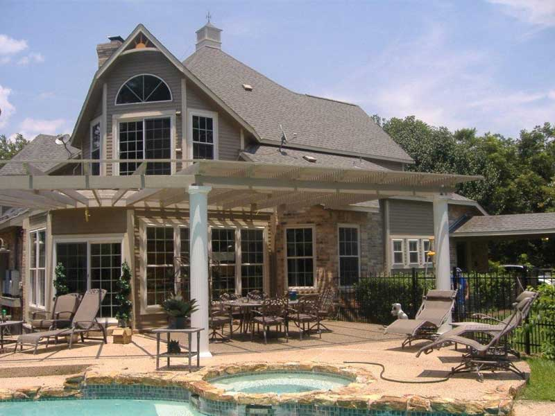 Attrayant Houston Metal Patio Cover 20