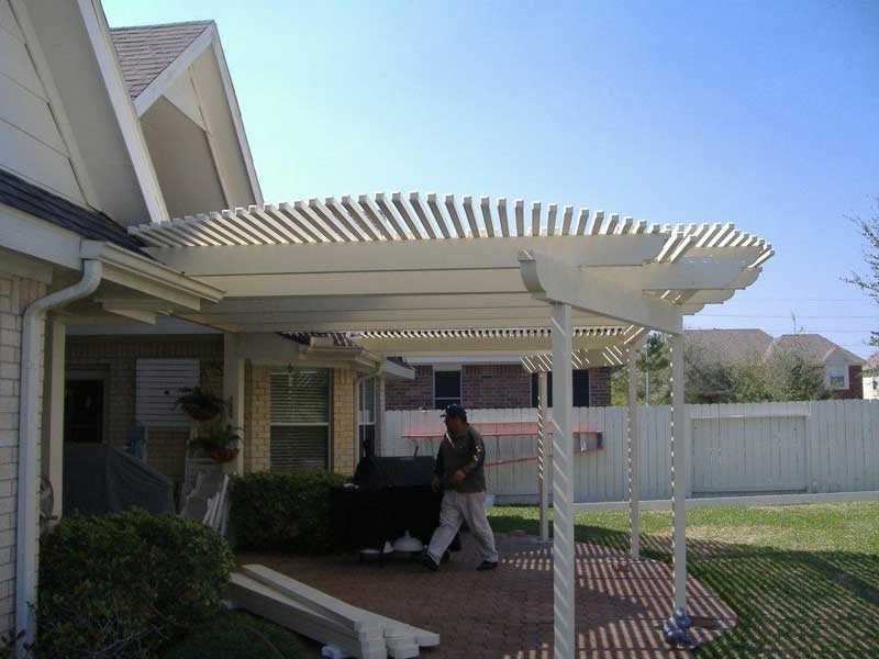 Captivating Houston Metal Patio Cover 26
