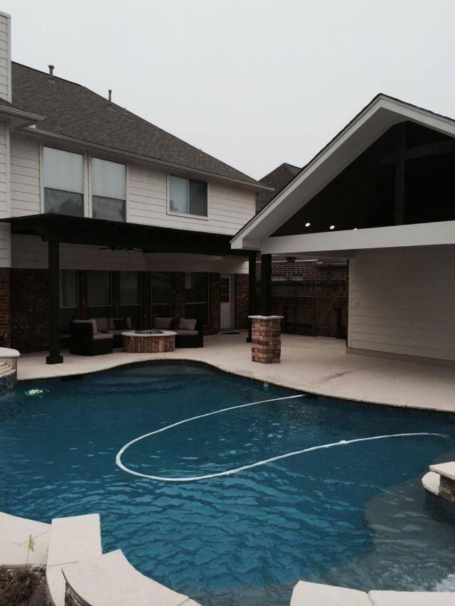 Schultz Swimming Pool Patio Covers Katy TX Patio